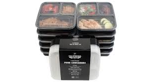 Small Picture 3 Compartment Food Containers California Home Goods