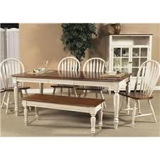 country dining room sets. Six Piece Dining Set With Turned Legs Country Room Sets