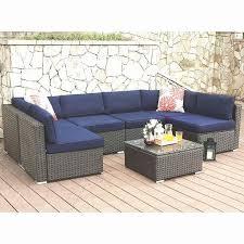rattan wicker outdoor sectional sofa