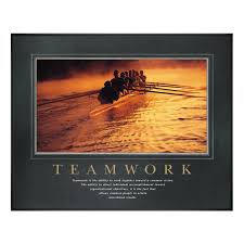 teamwork office wallpaper. Classic Motivational Poster From Successories.com - Teamwork Is The Ability To Work Together Toward Office Wallpaper C