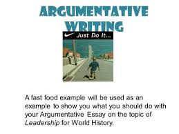 the art of persuasive writing ppt  argumentative writing