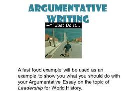 the art of persuasive writing ppt  argumentative writing
