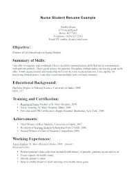 College Student Resume Cover Letter Cover Letter Examples Students
