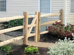 build split rail fence building