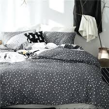 grey crib set twin queen king size star print grey bedding set for kids boys girls