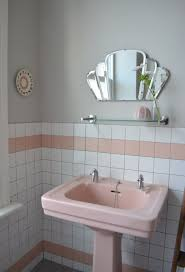 Skillful Design Retro Bathroom Sinks Spectacularly Pink Bathrooms That  Bring Style Back Toilets Uk Blue Pedestal New