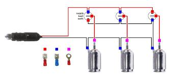 12volt lighting switchbox parts wiring diagram