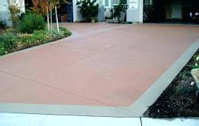 backyard concrete slab ideas painted patio floor painting can you paint pavers