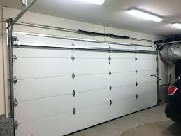 garage door brace. Garage Door Braces Horizontal Double Aluminium White Sectional Overhead . Brace