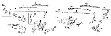 mgb windscreen wiper system 1962 1967