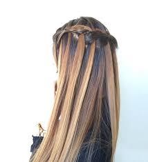 Hairstyle Waterfall 40 flowing waterfall braid styles waterfall braid tutorial and 6600 by stevesalt.us