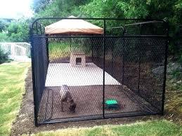 outdoor dog kennel ideas design flooring indoor