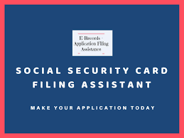 Do you need a replacement social security card? Social Security Card Filing Services Make Your Application Today By E Records Issuu