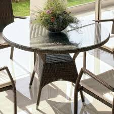 skyline design marriot 31 round bistro table with umbrella hole in jb chocolate 2303