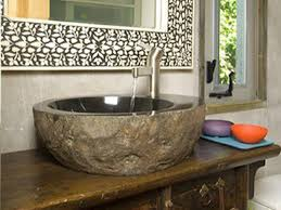 Rock Sinks Bathroom