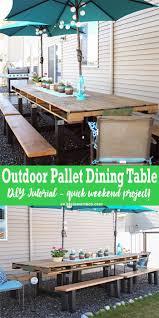 Best 25+ Diy outdoor table ideas on Pinterest   Outdoor tables ...
