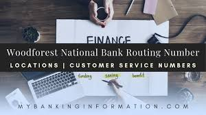 Woodforest National Bank Customer Service Phone Number Woodforest National Bank Routing Number Updated 2019 All