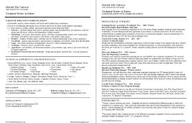 ... How To Write A Tech Resume 11 Technical Writing ...