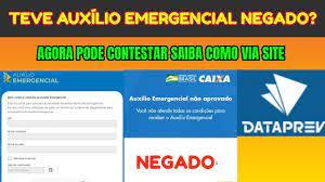 AUXÍLIO EMERGENCIAL NEGADO AGORA PODE CONTESTAR VIA DATAPREV SAIBA COMO. |  Instalação de chuveiro, Eletrica residencial, Instalação