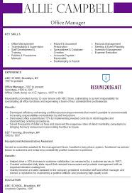 office manager resume 2016 resume samples office manager