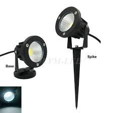 Us 59 39 38 Off 10x Outdoor Led Lawn Lights Waterproof Cob Garden Lamp 220v 110v 12v 3w 5w 7w 9w Spike Lighting Ip65 Pond Path Landscape Bulbs In