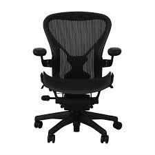76 Off Herman Miller Herman Miller Aeron Desk Chair Chairs