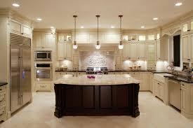 Luxury Kitchen Flooring Black And White Plaid Ceramic Floor Bronze Single Handle Faucet