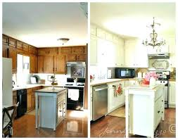 painted white oak kitchen cabinets. paint colors for oak kitchen cabinets update updating painting white refinishing ideas golden painted