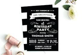 18th birthday party invitations free birthday party invitations birthday party invitation free free printable 18th birthday