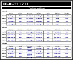 training calendars templates free workout log template thats printable easy to use builtlean