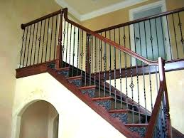 Wrought Iron Staircase Stair Railings Railing Photo New Home Design ...
