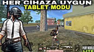 HER CİHAZA UYGUN TABLET MODU NASIL YAPILIR? / PUBG Mobile Lite - YouTube