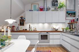 Attic Kitchen Attic Apartment In The Scandinavian Style