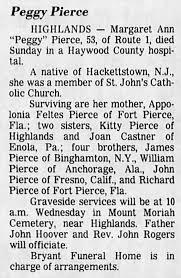 Margaret Ann Pierce, daughter of Appolonia Feltes Pierce - Newspapers.com