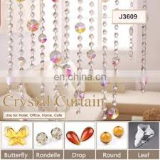 custom crystal beads curtains screens