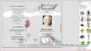 Funeral Card Templates Free Free Printable Memorial Card Template 24 Free Funeral Program 14
