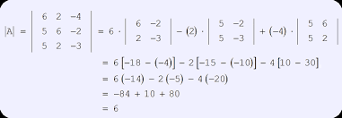 cramer s rule with three variables