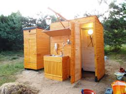 how to build a camping shower with tankless water heater