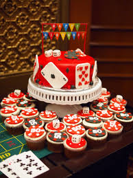 Poker Chips Dice Cupcakes For Him Styleink Mother Daughter