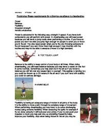 explaining fitness requirements for achieving excellence in  page 1 zoom in