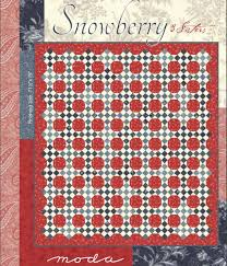 Moda Fabrics Free Patterns Custom Snowberry By 48 Sisters For Moda Fabrics