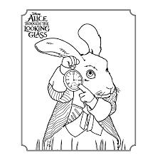 Alice Through The Looking Glass Kleurplaten Kleurplatenpaginanl