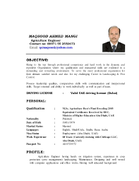 MAQSOOD AHMED MANGI Agriculture Engineer Contact no: 00971 55 2550673  Email: qcmaqsood@yahoo ...