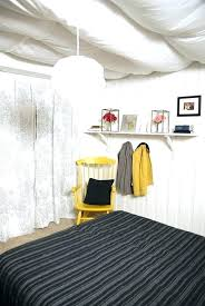 basement ceiling ideas fabric. Fabric Ceiling Ideas For Basement Ceilings Covered Low .
