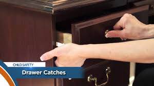 Child Safety For Cabinets Child Safety Tip Drawer Catch 149 Youtube