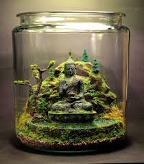 ... Terrarium Design, Terrarium Decoration Terrarium Decoration Miniature  Big Jar Transparent Design With Budha Staue Beatiful ...