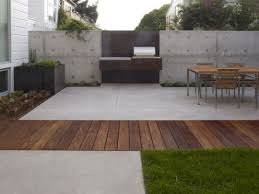 modern concrete patio. Modern Concrete Patio Design Ideas