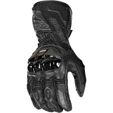 Black Flexium Tx Leather Gloves 1440 2002
