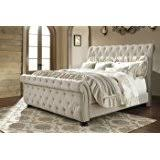 upholstered sleigh beds. Signature Design By Ashley B643-74 Willenburg Upholstered Footboard, Queen Sleigh Beds