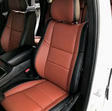 details about katzkin blk cognac repla leather int fits 2016 2019 jeep grand cherokee overland
